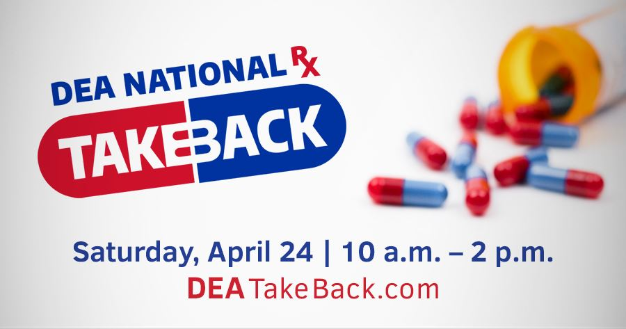 DEA Take Back Day ENGLISH