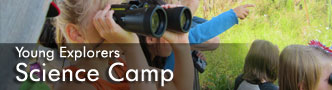 Young Explorers Science Camp Banner