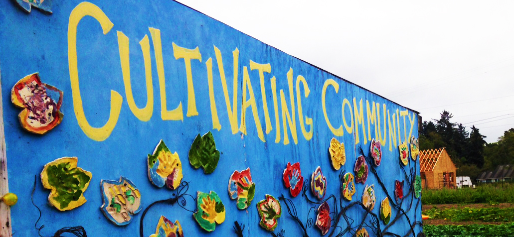 Cultivating Community Sign