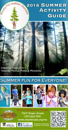 2016 Summer Activity Guide Cover