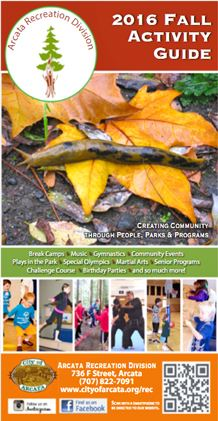 2016 Fall Activity Guide