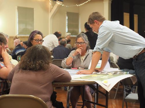 Old Arcata Road Design Workshop Participants