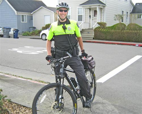 Arcata Police Department Downtown Arcata Bicycle Patrol