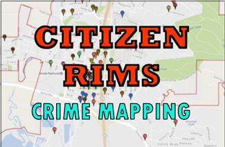 Citizen RIMS Online Crime Tracking Tool