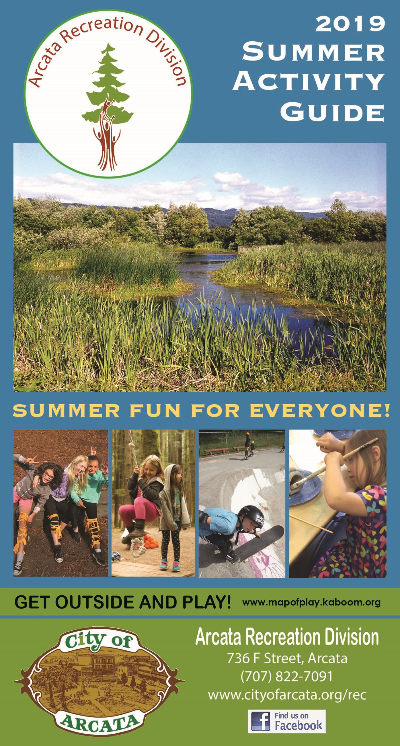 Recreation Division Summer Activity Guide 2019