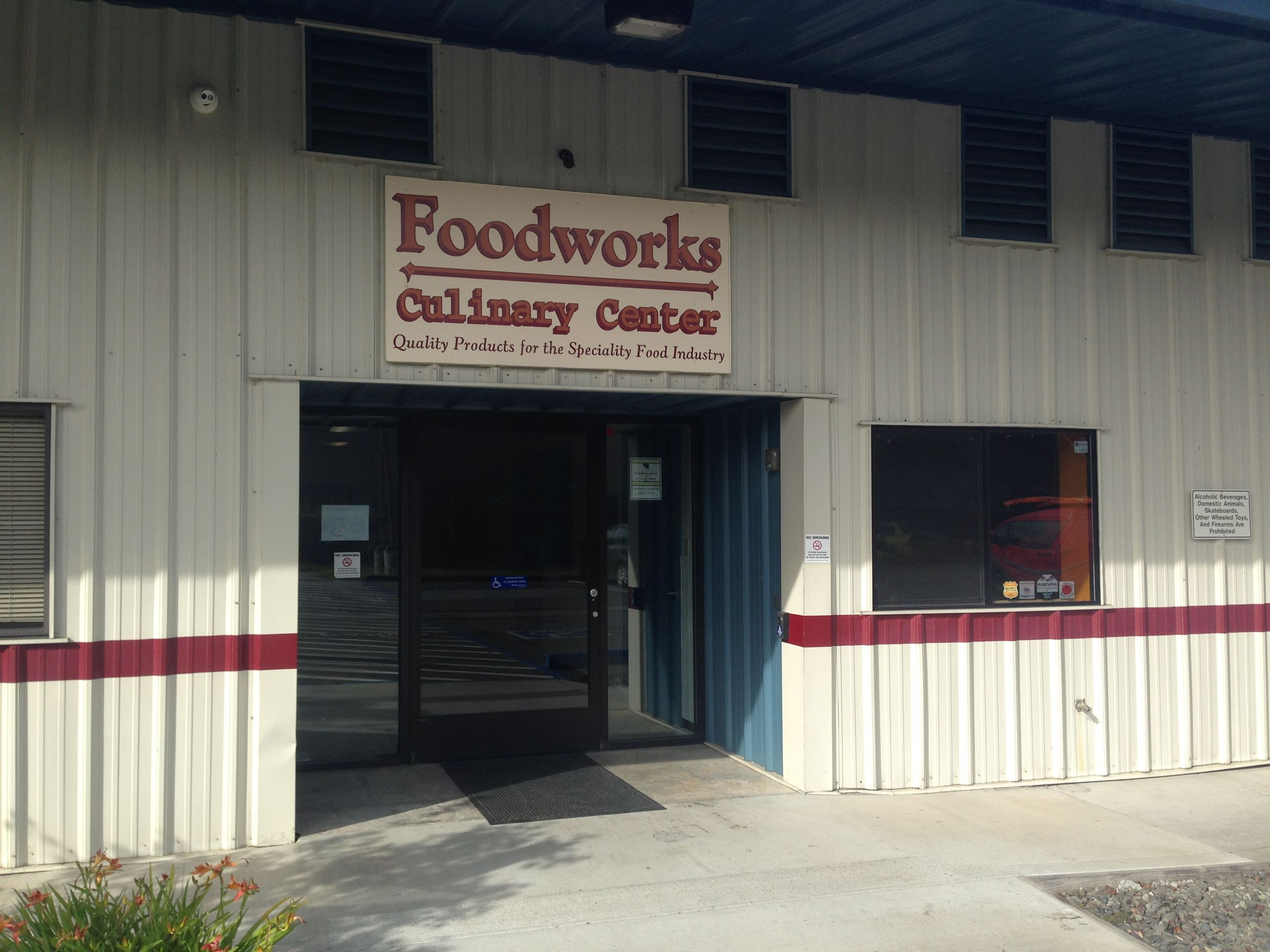Foodworks Front Door