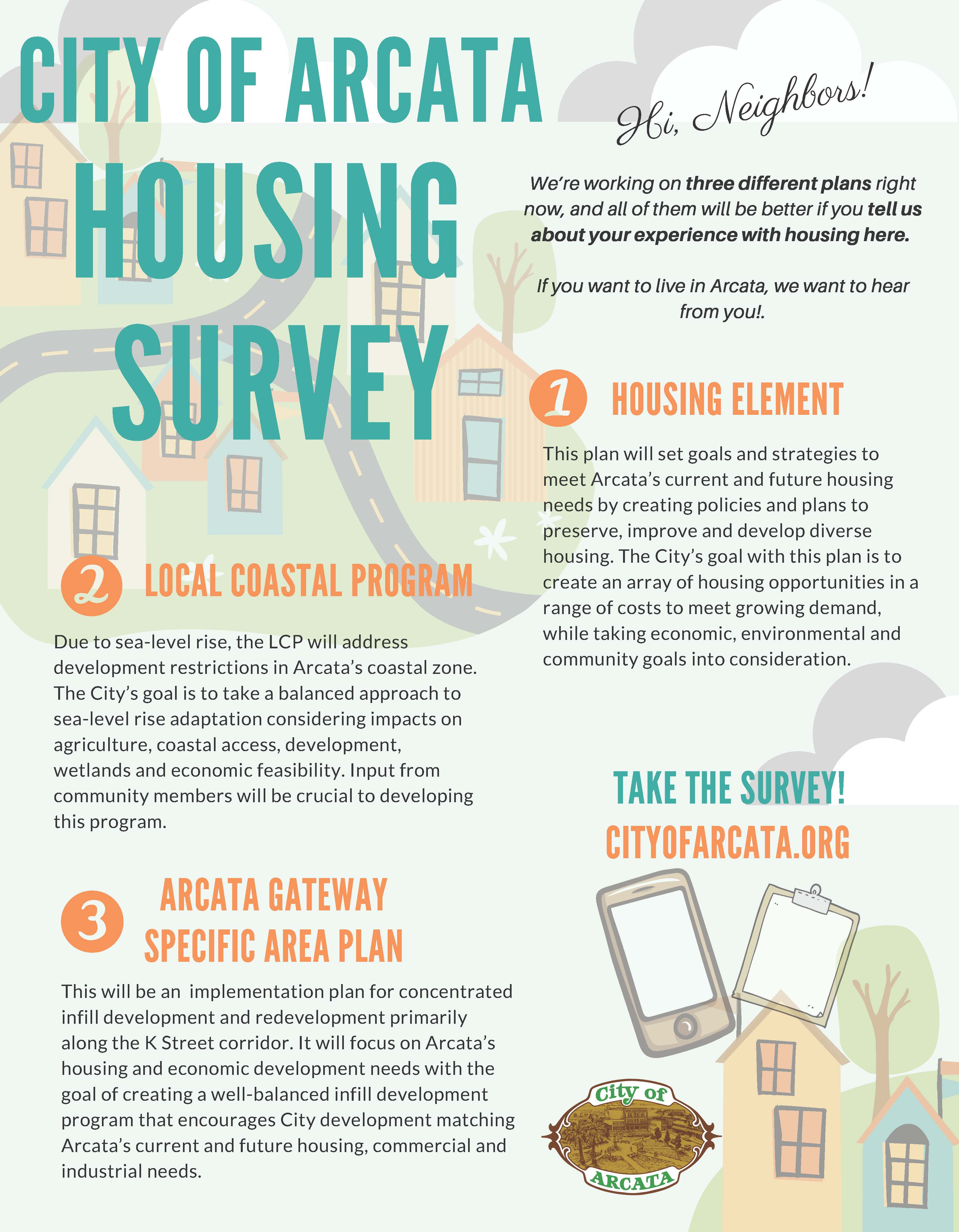 City of Arcata Housing Survey Opens in new window