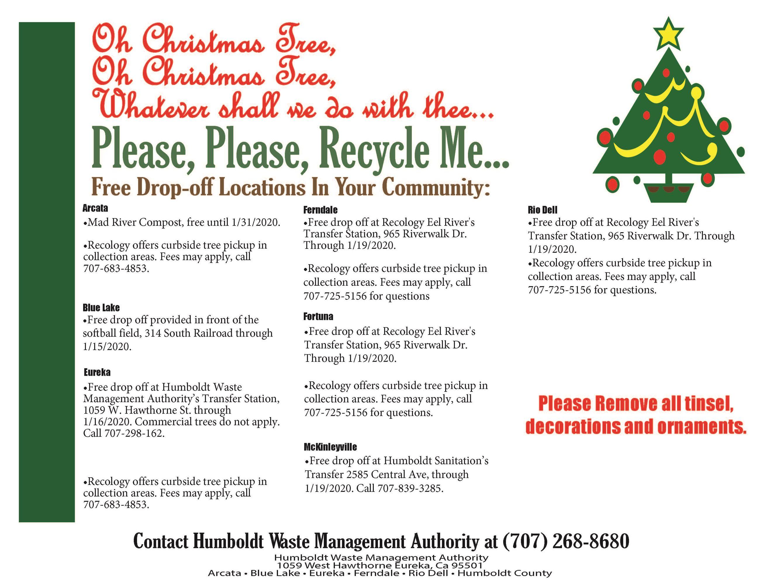 Christmas Lights Humboldt County 2020 Arcata, CA