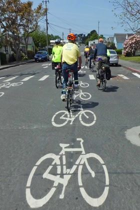 Arcata Bicycle Boulevard