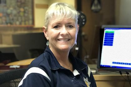 Arcata Police Department Police Services Assistant Bev Bence