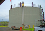 A Wastewater Treatment Plant Digester station